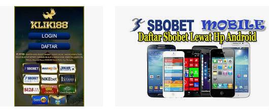 daftar sbobet mobile
